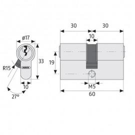 wkładka antywłamaniowa ASSA P600