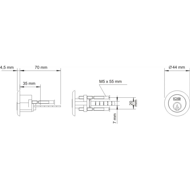 Czytnik elektroniczny LOB Rentinglock