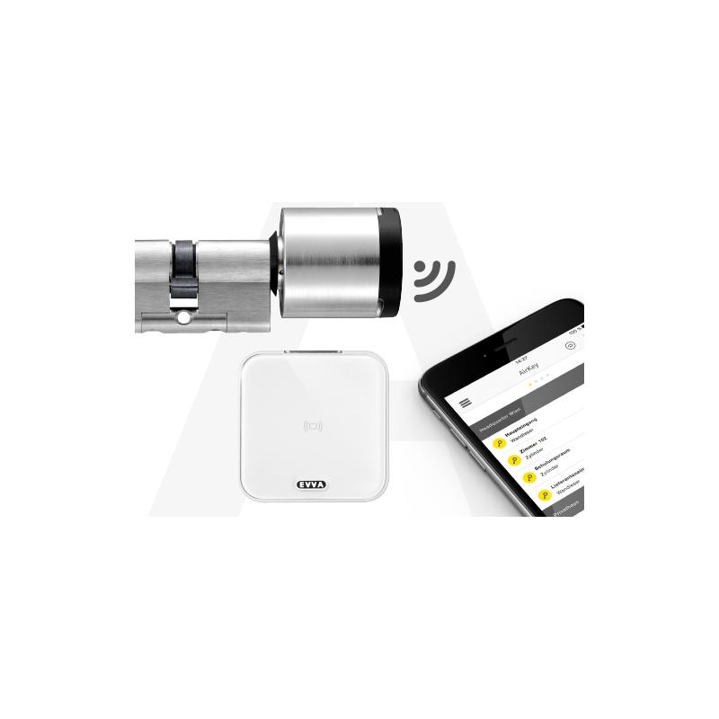 Wkładka elektroniczna EVVA AirKey dwustronna kontrola dostępu