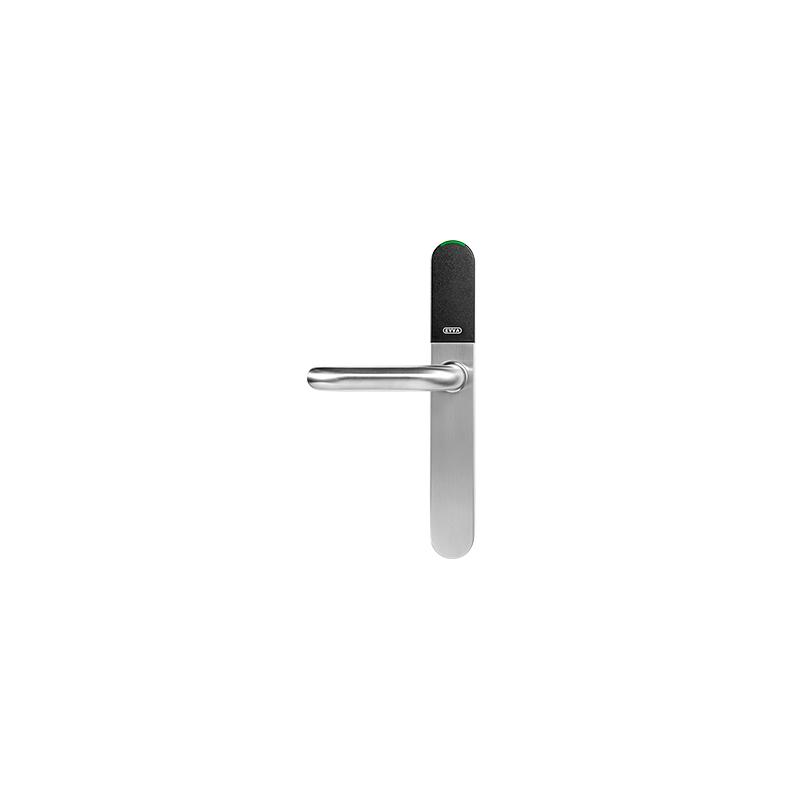 Okucie wąskoprofilowe elektroniczne EVVA Xesar jednostronna kontrola dostępu