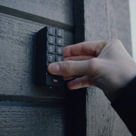 Klawiatura do zamka Yale Linus mocowanie na klej