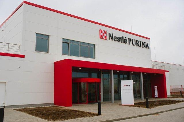 Wejscie Nestle Purina